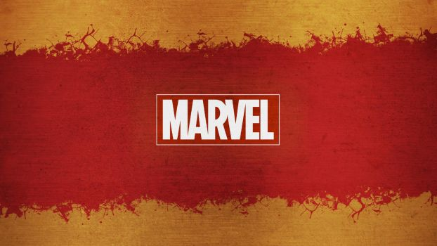 Marvel Red and Gold Wallpaper by sylgrio