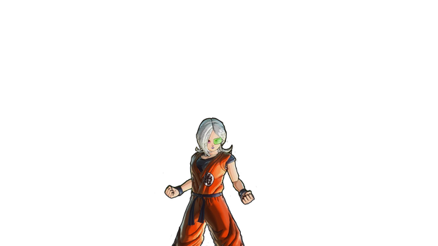 My Dragonball Xenoverse 2 Open Beta Character V.4 by Perfectdranzer