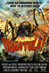 Insectula! Movie Poster by Insectula
