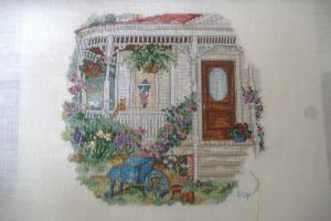 The Cross Stitch by sillysox19