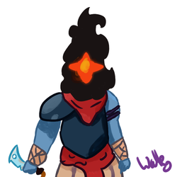 Dead Cells Protagonist by Wallespider