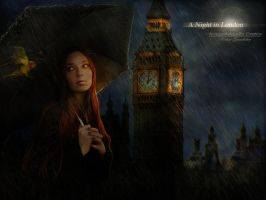 A Night in London by Le-Regard-des-Elfes