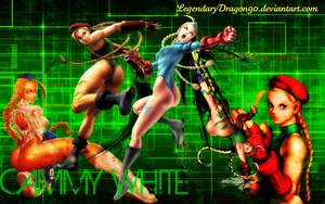 Cammy White Wallpaper by LegendaryDragon90