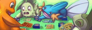 pokemon playing pokemon