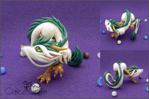 Custom: Haku the dragon by CalicoGriffin