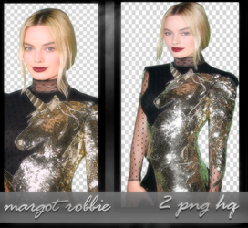 Margot Robbie PNG PACK by NorthXrX
