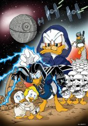 dark side of the ducks by vincoboy