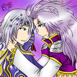 Kuja and cecil by loveforkuja