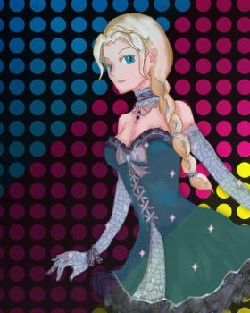 Elsa's Night Out by kyropteran