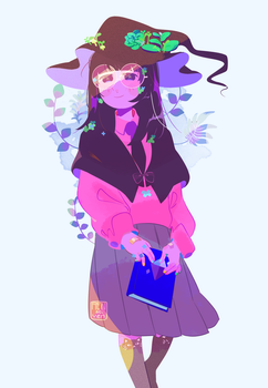 Plant Witch by Rensaven