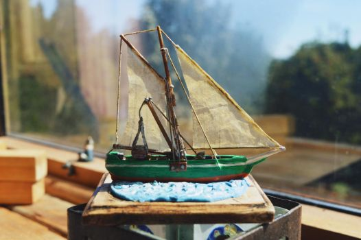 Crafts -  Ship carving #4 by bleu-nuit