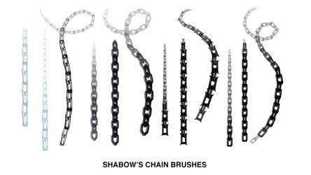 Shabow's Chain Brushes for Photoshop by Shabow