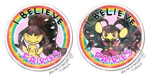 I Believe in Fairies - Mawile/Mega Mawile by hajimikimo