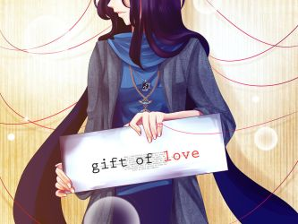the gift of love by DragonfaeryYume
