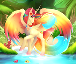 [QnB] The Summer Sun by PaintedWave
