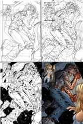 New X-Men page process by diablo2003