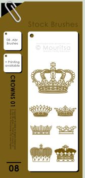 Brush Pack - Crowns 01 by iMouritsa