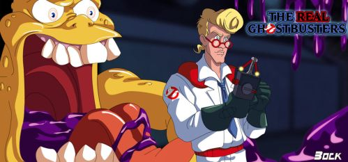 Fright Features Egon and Gooper Ghost by MikeBock