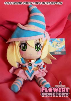 Dark Magician Girl Plush by Flowery-Cemetery