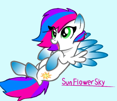 ART TRADE - SunFlower Sky by DaniGummyBear