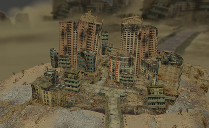 MMD City in stress by amiamy111