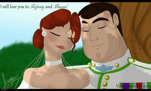 I will love you to Infinity and Beyond: V-day 2013 by DarkmatterNova