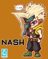 Street Fighter V - Nash [Maplestory Style] by RedCaliburn