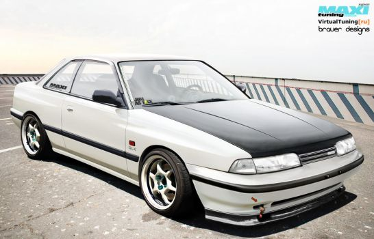True JDM Mazda 626 GD by braver-art