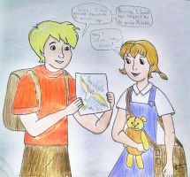 Contest entry: Cody and Penny by I-AmThatIsJamala