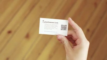 Easel Business Cards Promo