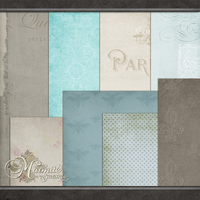 Parisian Papers by DaydreamersDesigns