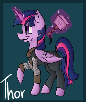 Twilight Thor by PonyCrown