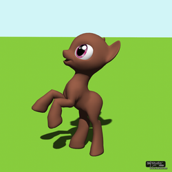 Posable MLP Pony V1.0 by JustTheBast