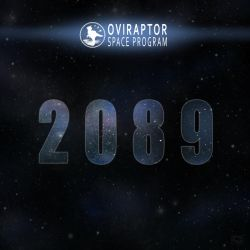 Oviraptor Space Program - 2089 Track Art by MicrocosmicEcology