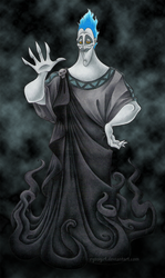Hades, Lord of the Underworld by RyouGirl