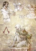 Assassin's Creed 2 sketches by Vassantha