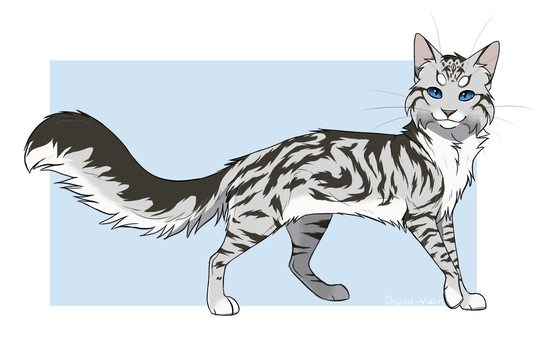 Feathertail  Redraw  by BlackOutlet