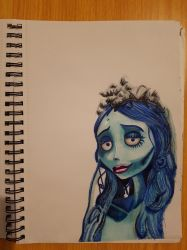 corpse bride by Chri8