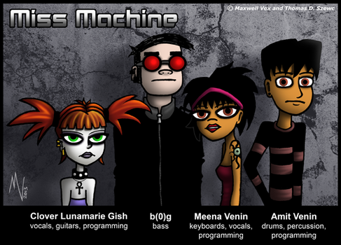 Miss Machine - Promophoto 01 by JimmyMisanthrope