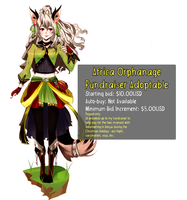 FUNDRAISER ADOPTABLE CLOSED by MzzAzn