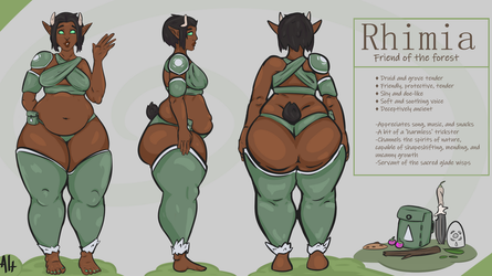 Rhimia (Ref Sheet) by AlternativeMethods
