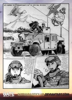 Semper Fi GATE Fanfiction/Fanart Request by Katmada20xx-V2