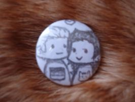 LudIsa Button by isa-chan16