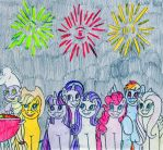MLP July 4th Card by Jose-Ramiro