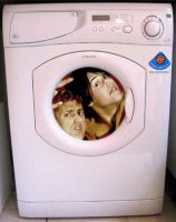 Bill and Ted in washing machine by Ripplin