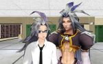 Kuja become father MMD by Sephikuji