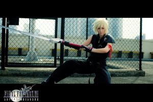 Final Fantasy - Cloud Strife by rescend