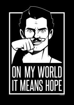 Mustache Of Hope by Imajinn-Design