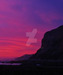 Sunset at the Tidepools by Slick-Vic
