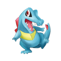 Totodile by Trexia